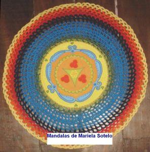 """Mandala """"Sabia"""" de Mariela Sotelo"""