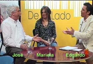 Mariela invitada por el Prof. Sotelo al Programa del Per. Camacho.